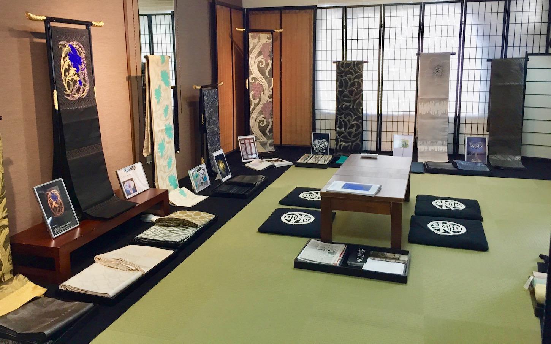 Kondaya-Genbei Kyoto Muromachi Nara Ikoma Obi Kimono Yamaguchi
