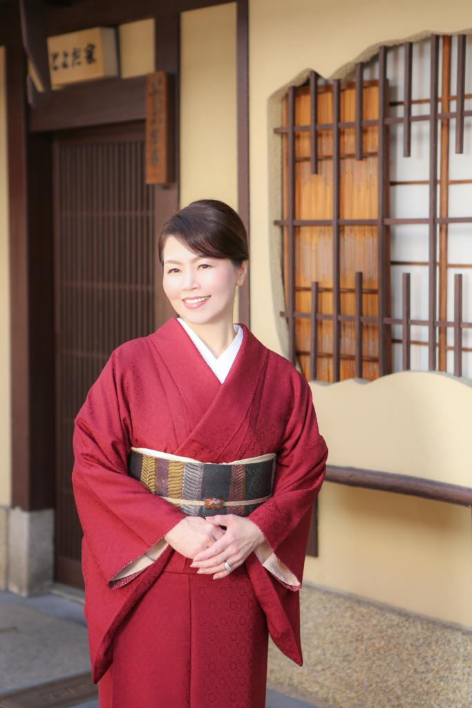Fumie Yamaguchi Ikoma Nara Obi Kimono Yamaguchi