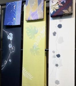komon obi&kimono yamaguchi ikoma nara