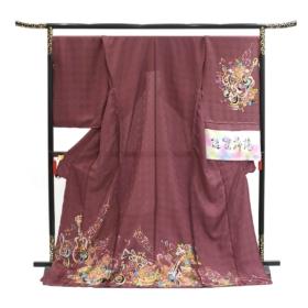 Kyoto muromachi ayanishiki ikoma Nara Obi Kimono Yamaguchi