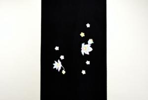 kaga-yuzen Ikoma Nara Obi Kimono Yamaguchi