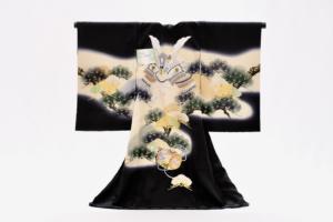 ubugi mens otokonoko omiyamairi shichigosan Ikoma Nara Obi Kimono Yamaguchi